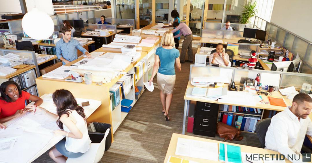 3 råd der vil øge din produktivitet i et åbent kontormiljø