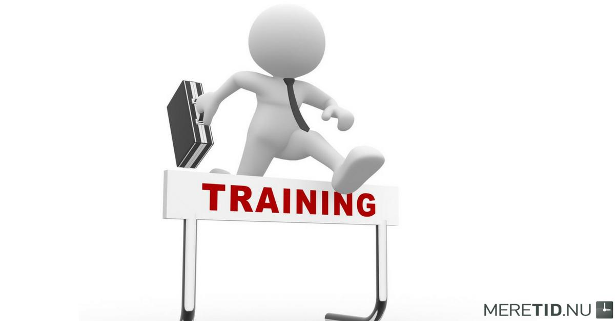 Vi tilbyder træning med effekt
