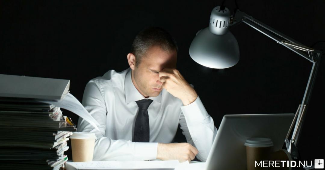 5 årsager til hvorfor du ikke får tingene gjort i arbejdstiden
