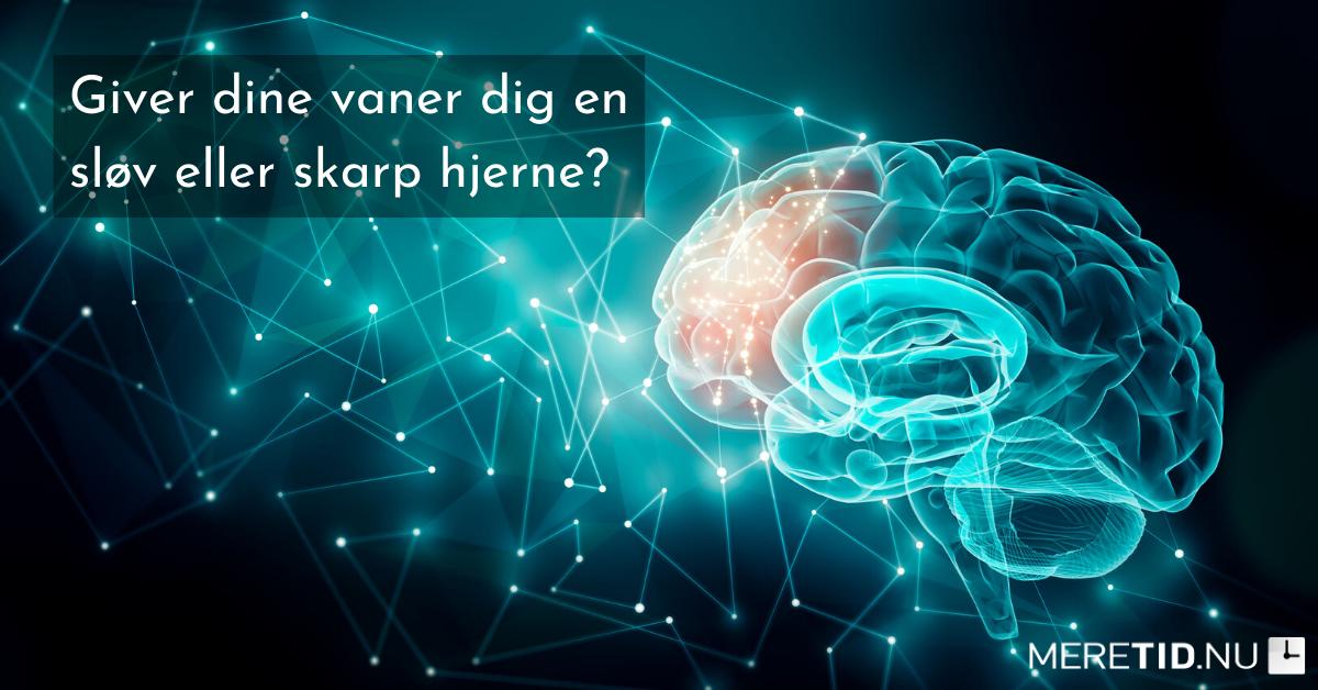 Giver dine vaner dig en sløv eller skarp hjerne?